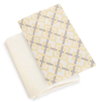 Glenna Jean Melrose Fitted Crib Sheet in Diamond Print