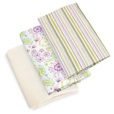 Glenna Jean Viola Fitted Sheet in Cream