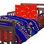 Just for Kids by Global Home Living Builders Toddler 4-Piece Bedding Set