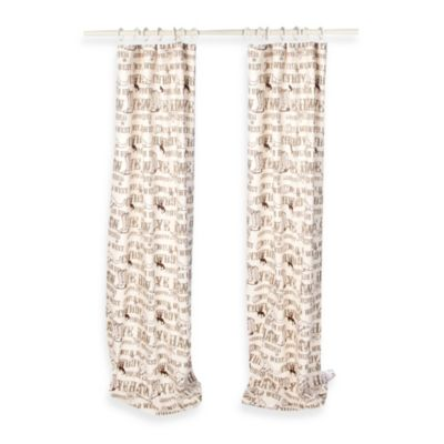 Glenna Jean Carson 90-Inch Window Curtain Panel Pair
