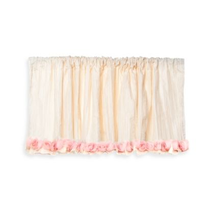Beige Pink Window Valance