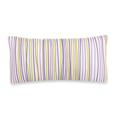 Glenna Jean Lulu Oblong Striped Throw Pillow