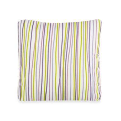 Glenna Jean Lulu Square Striped Throw Pillow