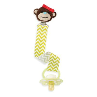 Mud Pie® Monkey Pacy Clip