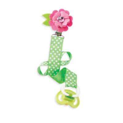 Mud Pie® Flower Pacy Clip