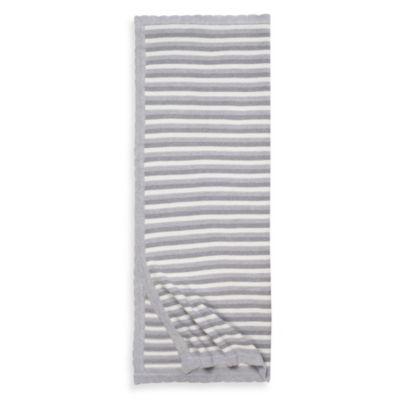 Grey Stripe Baby Bedding