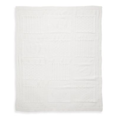 Elegant Baby® Knit Baby Blanket in Cream Heart