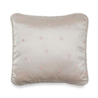 Ava Pink Dot Pillow