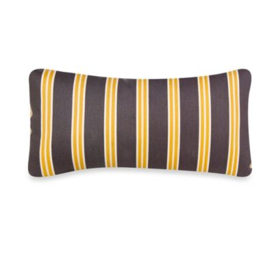 Glenna Jean Melrose Rectangular Striped Pillow