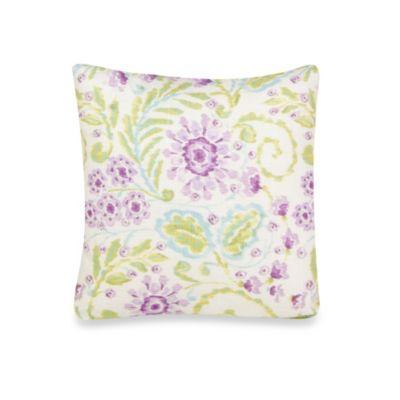 Glenna Jean Viola Floral Pillow
