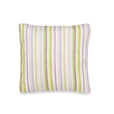 Glenna Jean Viola Stripe Pillow