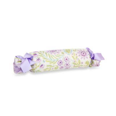 Glenna Jean Viola Floral Roll Pillow