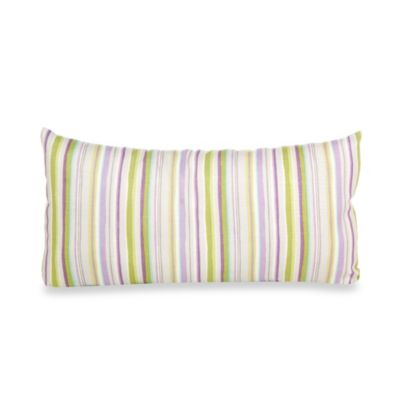 Glenna Jean Viola Stripe Rectangle Pillow