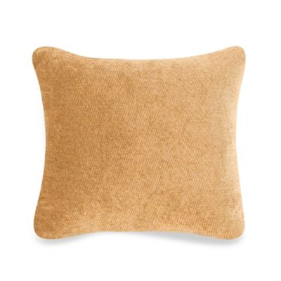 Glenna Jean Tanzania Square Throw Pillow in Tan