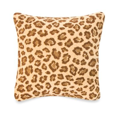 Glenna Jean Brown Square Pillow