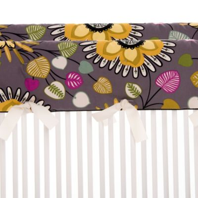 Glenna Jean Melrose Short Convertible Crib Rail Protectors (Set of 2)