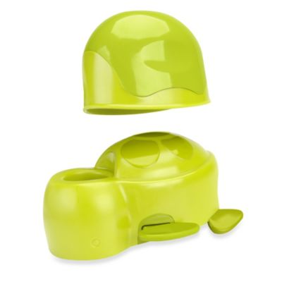 Brica® Spout Cover with Rinse Cup in Green Turtle