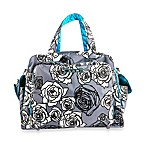 Ju-Ju-Be® Be Prepared Diaper Bag in Charcoal Roses