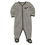 Carter's® Terry Snap-Up Sleep & Play in Grey Stripe Raccoon