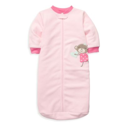 Carter's® Microfleece One Size Fits All Sleep Bag in Pink Monkey