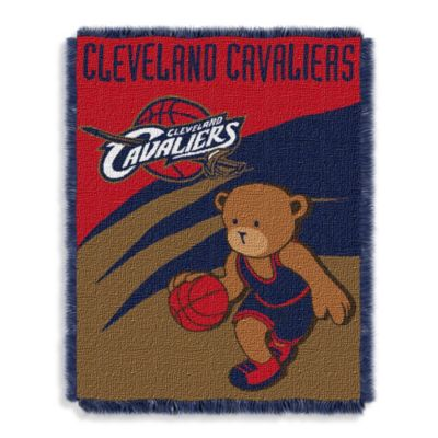NBA Cleveland Cavaliers Woven Jacquard Baby Blanket/Throw