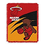 NBA Miami Heat Woven Jacquard Baby Blanket/Throw