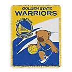 NBA Golden State Warriors Woven Jacquard Baby Blanket/Throw