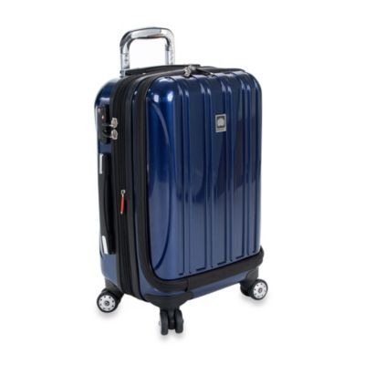 DELSEY Helium Aero 19-Inch Carry-On Spinner in Blue