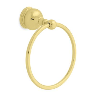 Delta Traditional Brass Towel Ring in Brass