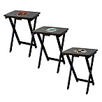 NFL® Team Logo TV Trays with Stand (Set of 4)
