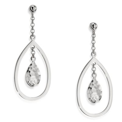 ELLE Jewelry Whimsy Sterling Silver Dangle Earrings