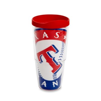 Tervis® Texas Rangers 24-Ounce Wrap Tumbler with Red Lid