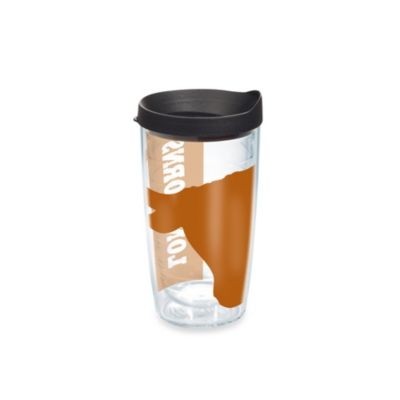 Tervis® Colossal Wrap University of Texas 16-Ounce Tumbler with Black Lid