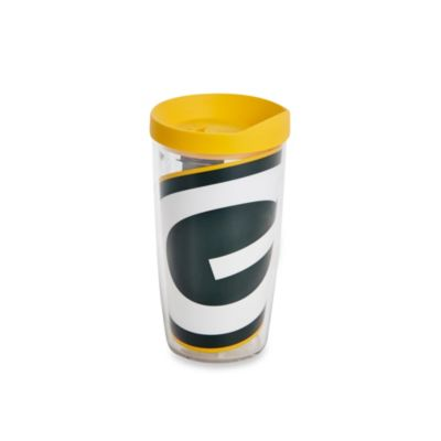Tervis® Green Bay Packers 16-Ounce Wrap Tumbler with Yellow Lid