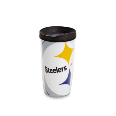 Tervis® Pittsburgh Steelers 16-Ounce Wrap Tumbler with Black Lid