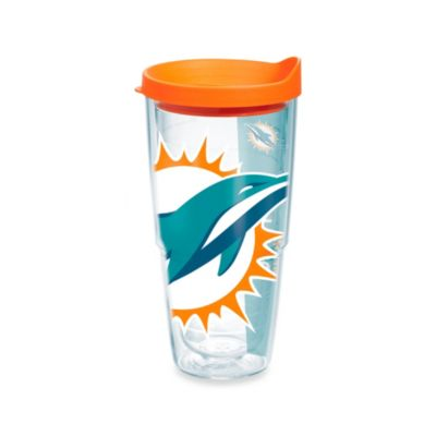 Tervis® Miami Dolphins 24-Ounce Wrap Tumbler with Orange Lid