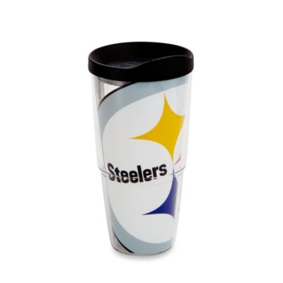 Tervis® Pittsburgh Steelers 24-Ounce Wrap Tumbler with Black Lid