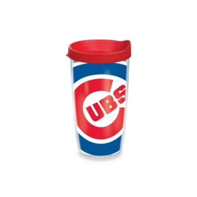 Tervis® Chicago Cubs 16-Ounce Wrap Tumbler with Red Lid