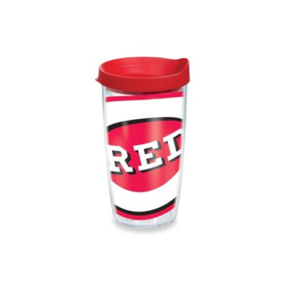 Tervis® Cincinnati Reds 16-Ounce Wrap Tumbler with Red Lid