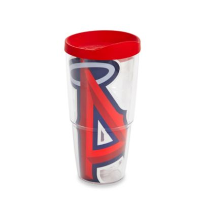 Tervis® Los Angeles Angels 24-Ounce Colossal Wrap Tumbler with Red Lid