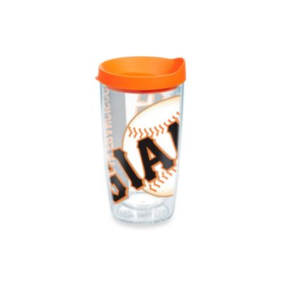 Tervis® San Francisco Giants 16-Ounce Wrap Tumbler with Orange Lid