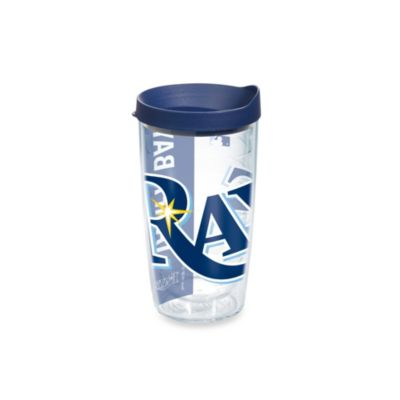 Tervis® Tampa Bay Rays 16-Ounce Colossal Wrap Tumbler with Blue Lid
