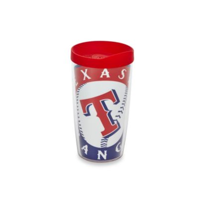 Tervis® Texas Rangers 16-Ounce Wrap Tumbler with Red Lid