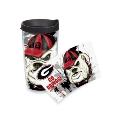 Tervis® Guy Harvey University of Georgia Go Dawgs! 16-Ounce Wrap Tumbler with Black Lid