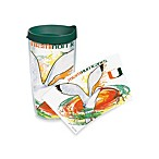 Tervis® Guy Harvey Miami Hurricanes 16-Ounce Wrap Tumbler with Green Lid