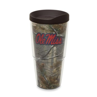 Tervis® Realtree AP University of Mississippi 24-Ounce Wrap Tumbler with Brown Lid
