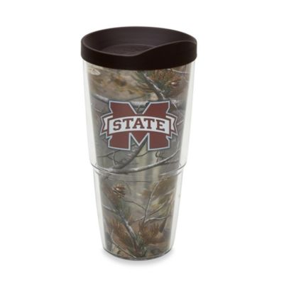 Tervis® Realtree AP Mississippi State University 24-Ounce Wrap Tumbler with Brown Lid