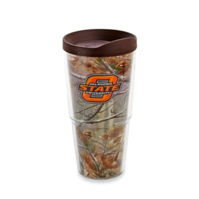 Brown Orange State Tumbler