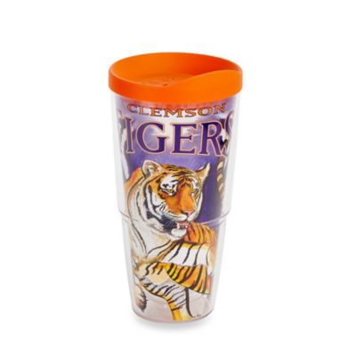 Tervis® Guy Harvey Wrap Clemson Tigers 24-Ounce Tumbler with Orange Lid