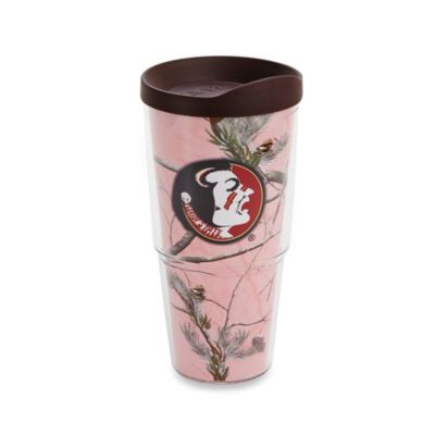 Tervis® Realtree® Wrap Florida State University 24-Ounce Tumbler in Pink